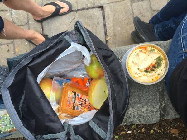 vegan snacks at Disneyland
