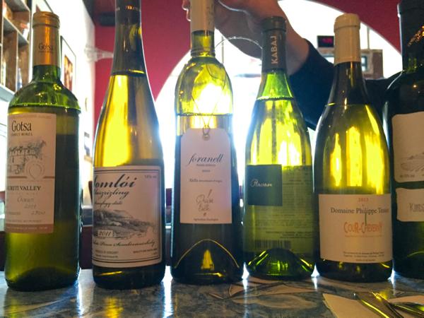 rare wines tasting