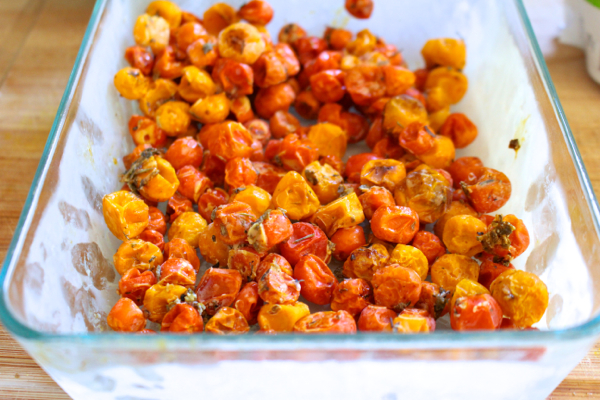 freezing roasted tomatoes